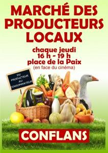 Marché des producteurs locaux de Conflans-en-Jarnisy