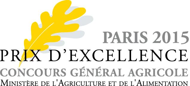 Prix Excellence du concours général agricole de Paris 2015